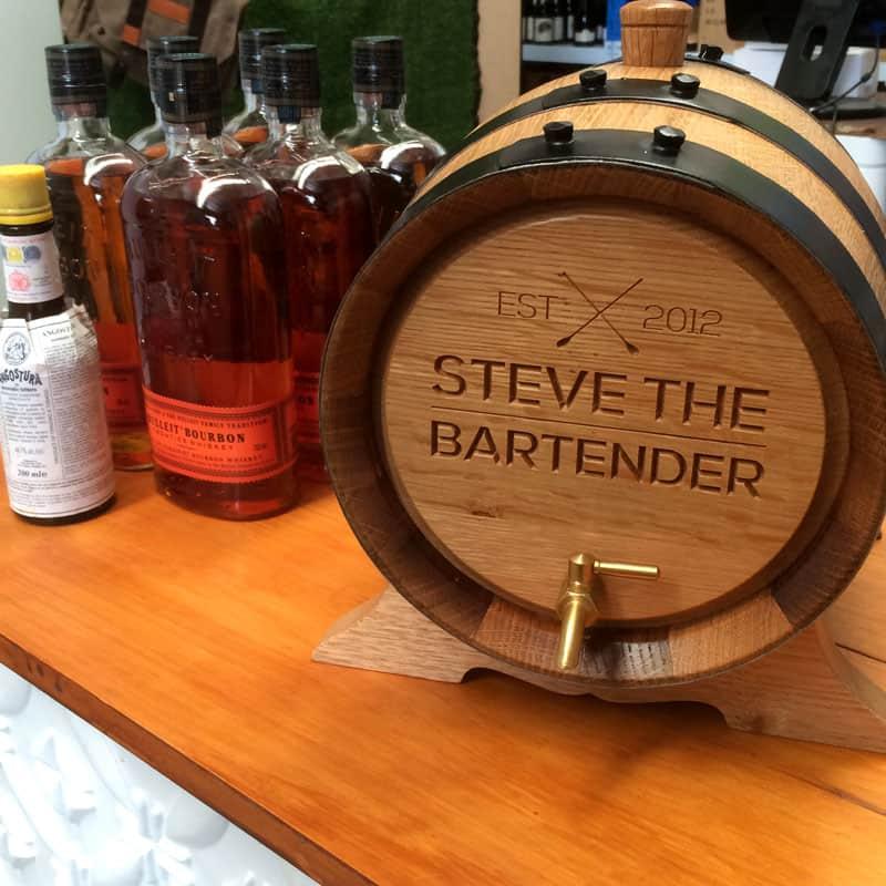 Barrel-Aged Old Fashioned
