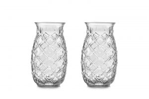 Tiki Pineapple Glass