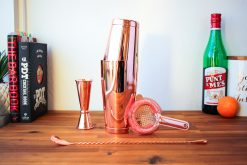 Copper Barware Set