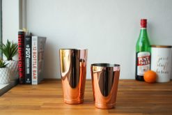 Copper Hikari Cocktail Shakers