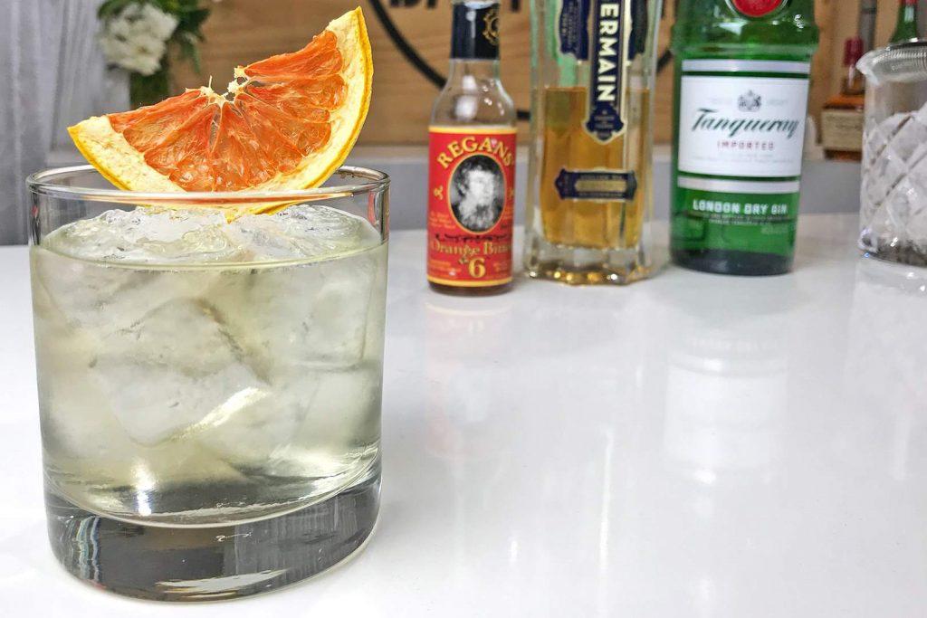 Elder Fashion Cocktail