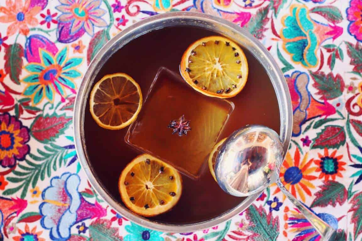Spiced Apple Punch Cocktail Recipe