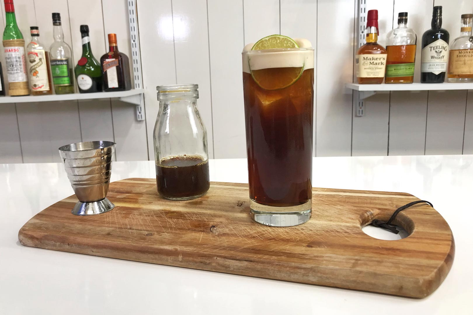 River Mint & Cola Cocktail Recipe
