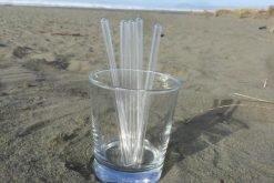 Clear Glass Straws